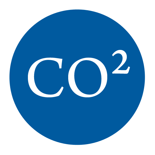 Medizinisches CO2 in verschiedenen Größen