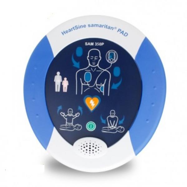 Defibrillator Heartsine 350P mit 8 Jahre Gerantie