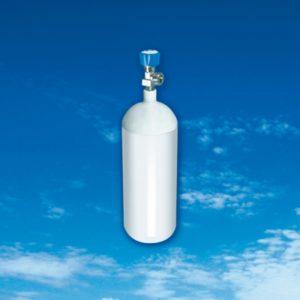 Sauerstoffflasche Volumen 1,0 Liter
